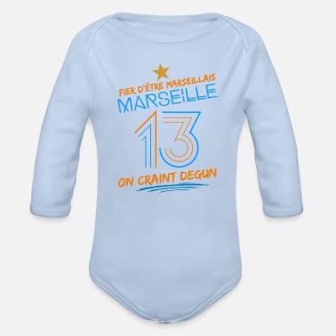 d6dc58bd301d9 Marseille Marseille 13 - Body Bébé bio manches longues