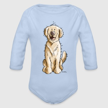 Golden Golden Retriever - Økologisk langermet baby-body