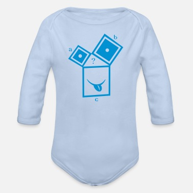 Pull The Root nerdthagoras - Organic Long-Sleeved Baby Bodysuit
