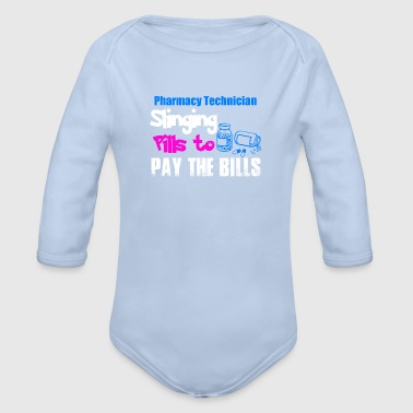 Pharmacy Technician / Pharmaceutical technical - Organic Longsleeve Baby Bodysuit