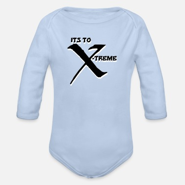 Xb Its to Xtreme Xb - Baby Bio Langarmbody
