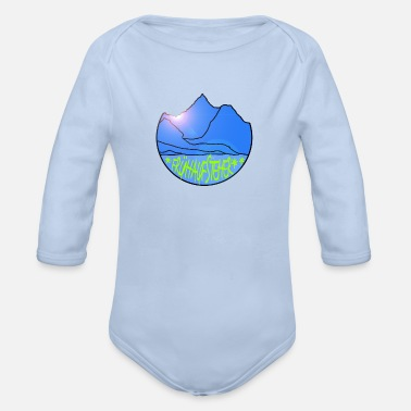 Early Risers Early riser - Organic Long-Sleeved Baby Bodysuit