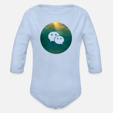 Social Social Media Social Media - Organic Long-Sleeved Baby Bodysuit