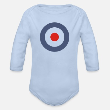 Mod Target Fussball Football World Champion - Organic Long-Sleeved Baby Bodysuit