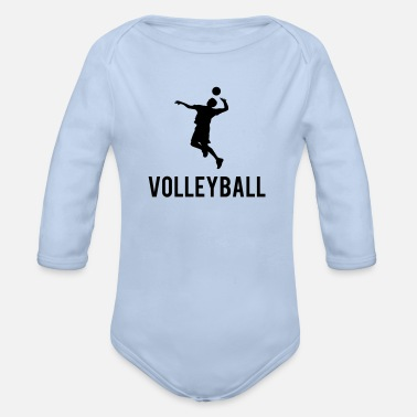 Volleyball Volleyball - Body Bébé bio manches longues