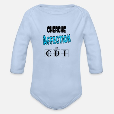Seeking Affection in CDI Hugs Sweetness Gift - Organic Long-Sleeved Baby Bodysuit