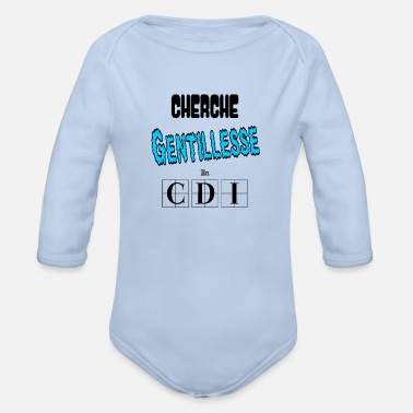 Seeking Kindness in CDI Hugs Tenderness Gift - Organic Long-Sleeved Baby Bodysuit
