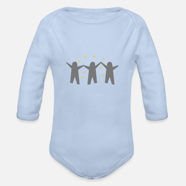 Group group - Organic Long-Sleeved Baby Bodysuit
