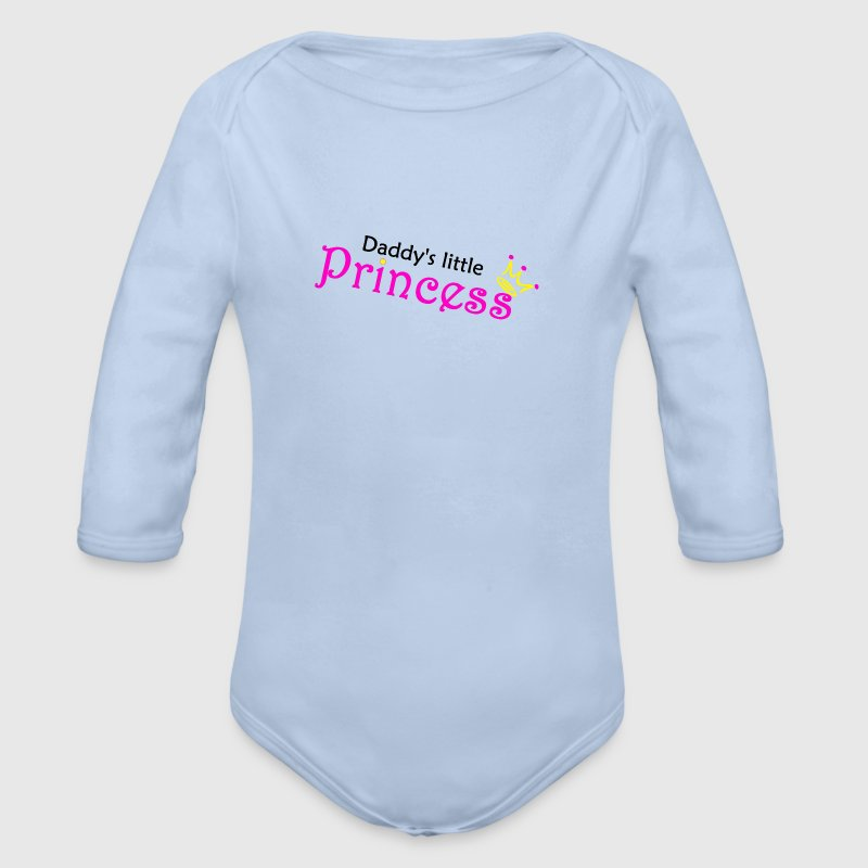 Daddy's little Princess - Baby Bio-Langarm-Body