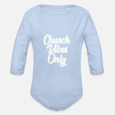 Church church - Organic Long-Sleeved Baby Bodysuit