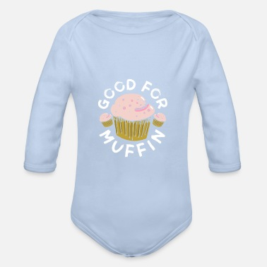 Muffin muffin - Organic Long-Sleeved Baby Bodysuit