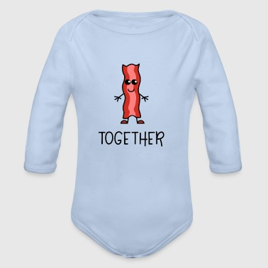 Better Together Partnerlook (Part2) Speck - Baby Bio-Langarm-Body