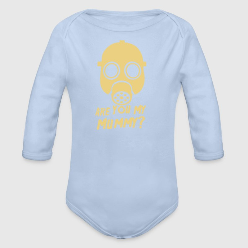 Doctor Who Are you my Mummy? - Organic Longsleeve Baby Bodysuit