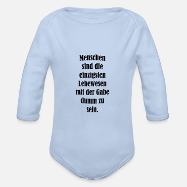 Cool Sayings cool sayings - Organic Long-Sleeved Baby Bodysuit