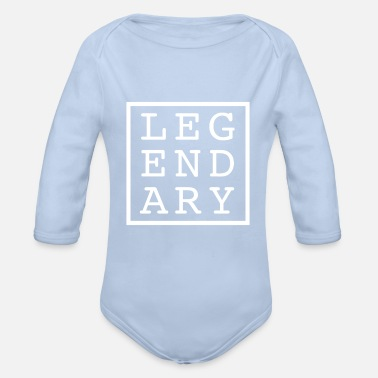 Legendary LEGENDARY LEGENDARY - Organic Long-Sleeved Baby Bodysuit