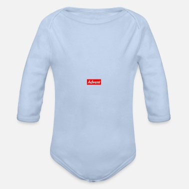 Advent Advent - Organic Long-Sleeved Baby Bodysuit