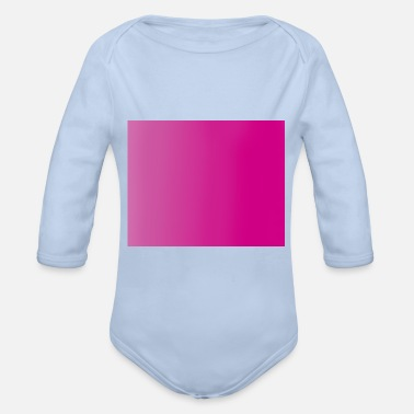 Colour colour - Organic Long-Sleeved Baby Bodysuit