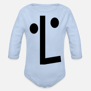 Playing Play, play - Organic Long-Sleeved Baby Bodysuit