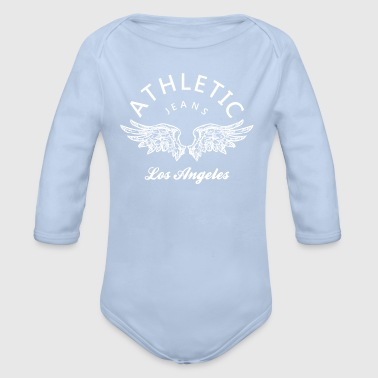 Los Angeles Athletic jeans los angeles - Body bébé bio manches longues
