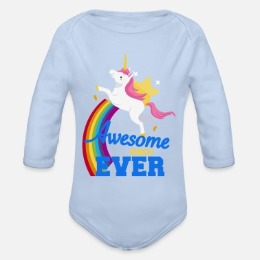 Awesome Since Unicorn - Awesome since ever - Rompertje met lange mouwen