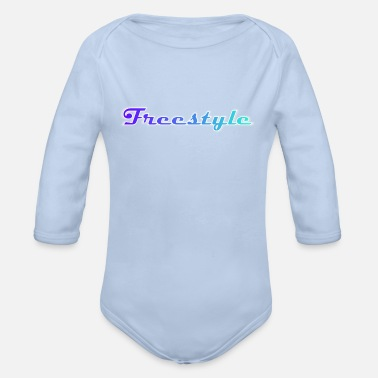 Freestyle Freestyle - Organic Long-Sleeved Baby Bodysuit