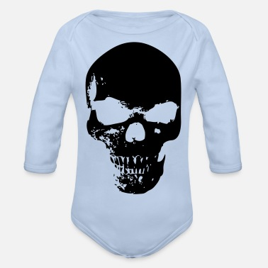 Collections Skull Collection - Organic Longsleeve Baby Bodysuit