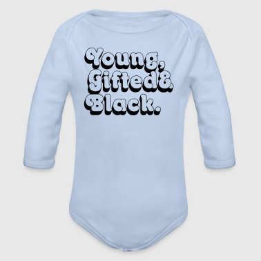 Young, Gifted & Black. - Organic Longsleeve Baby Bodysuit