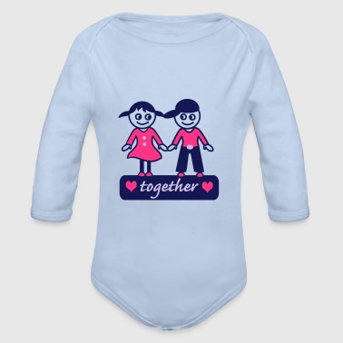 together - Organic Longsleeve Baby Bodysuit