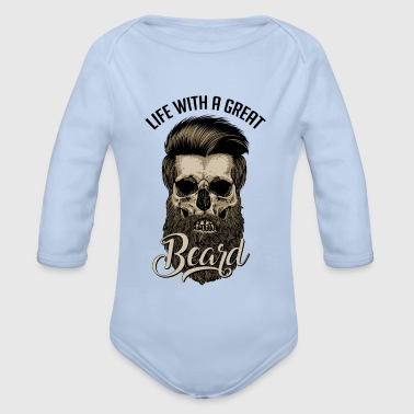 Great Beard - Organic Longsleeve Baby Bodysuit