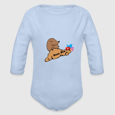 These Pim Athletic Wear - Organic Longsleeve Baby Bodysuit