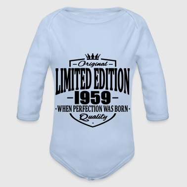 Limited edition 1959 - Baby Bio-Langarm-Body