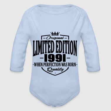 Limited edition 1991 - Baby Bio-Langarm-Body
