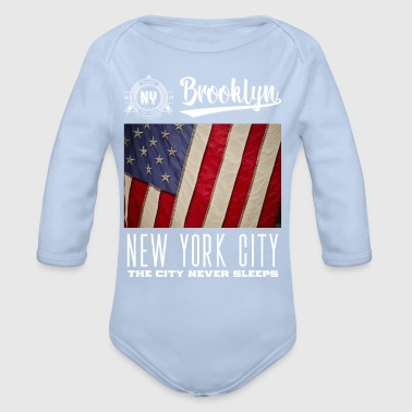 New York City · Brooklyn - Body bébé bio manches longues