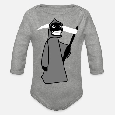Reaper Reaper - Organic Long-Sleeved Baby Bodysuit