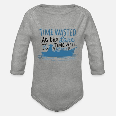 Boat Boat boating - Organic Long-Sleeved Baby Bodysuit