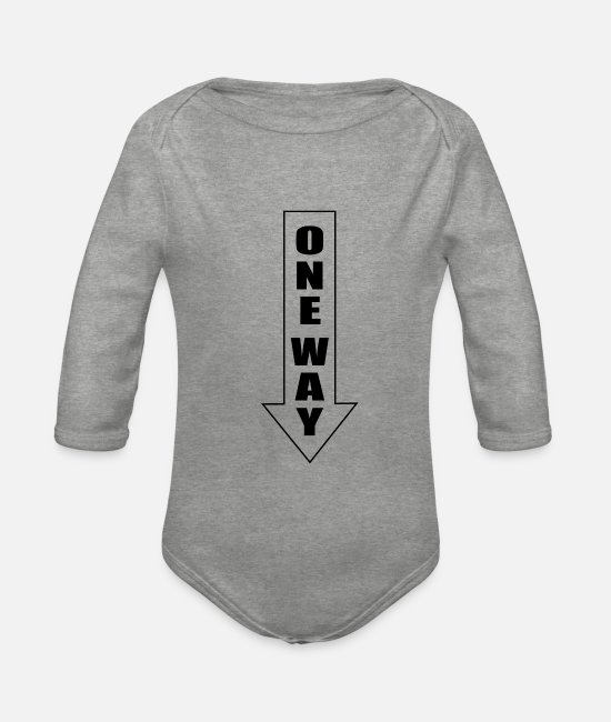 Meme Baby Bodysuits - Sexy Halloween Costume Slutty Party Joke Gifts - Organic Long-Sleeved Baby Bodysuit heather grey