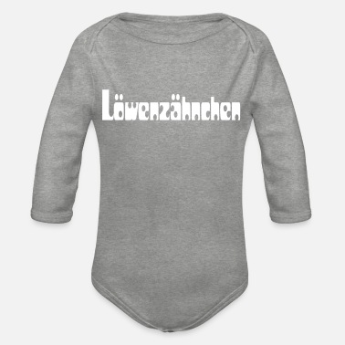Spitznahme loewenzähnchen - Organic Long-Sleeved Baby Bodysuit