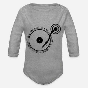 Turn Table Turn Table - Organic Long-Sleeved Baby Bodysuit