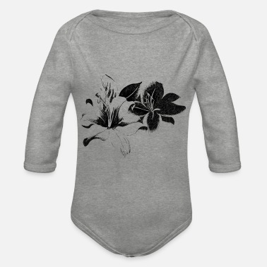 Lilien lilie - Baby Bio Langarmbody