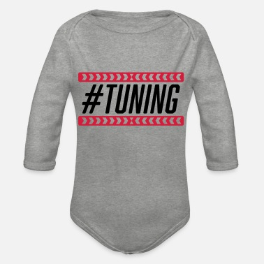 Tune #Tuning - Organic Long-Sleeved Baby Bodysuit