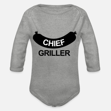 Steak Chief Griller - Baby Bio Langarmbody