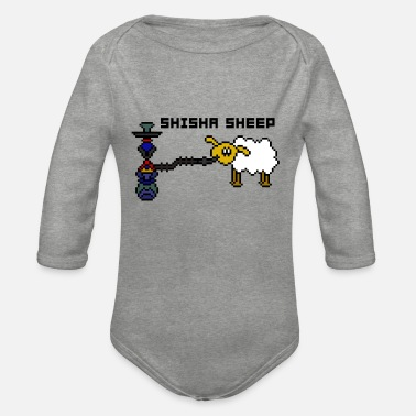 Shisha Sheep - Organic Long-Sleeved Baby Bodysuit