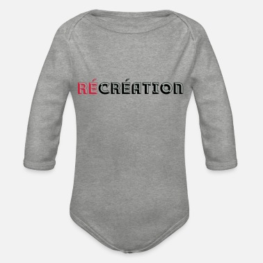 Recreational Recreation - Organic Long-Sleeved Baby Bodysuit