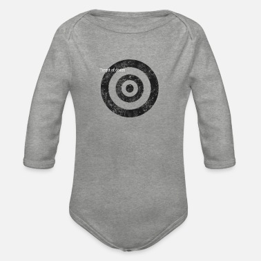 target_of_desire_shirt_gr - Organic Long-Sleeved Baby Bodysuit