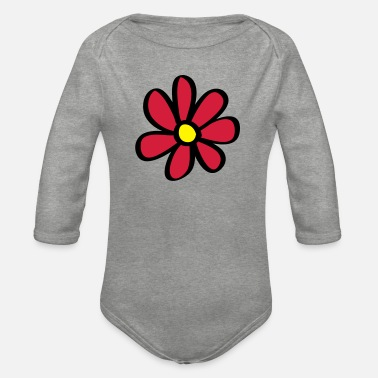 Blume Blume - Organic Long-Sleeved Baby Bodysuit