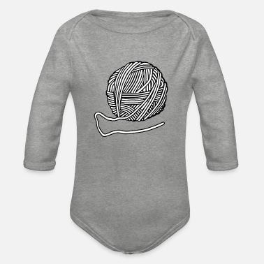 Wool Wool - Organic Long-Sleeved Baby Bodysuit