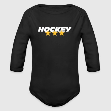 Hockey - Baby Bio-Langarm-Body