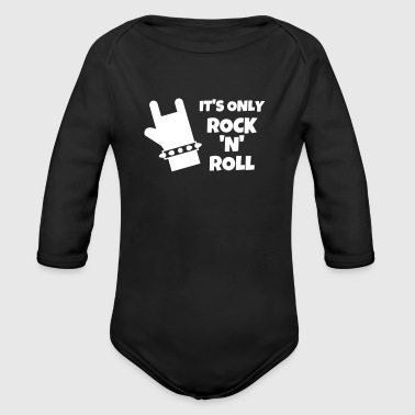 Rock / Metal / Punk / Rock 'n' Roll - Økologisk langermet baby-body