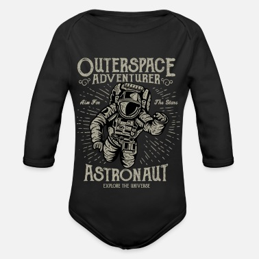 Outerspace Outerspace Adventurer - Organic Long-Sleeved Baby Bodysuit