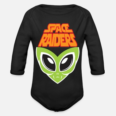 Raider SPACE RAIDERS - Organic Long-Sleeved Baby Bodysuit